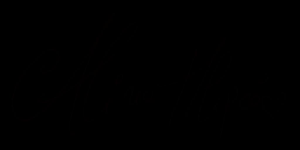 Alina semnatura mare negru