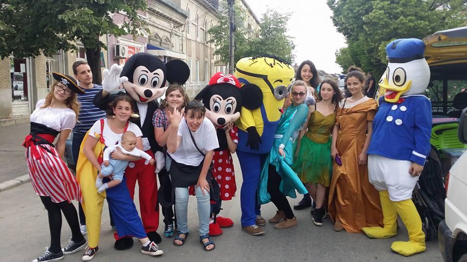 animatori si mascote pentru evenimente si petreceri