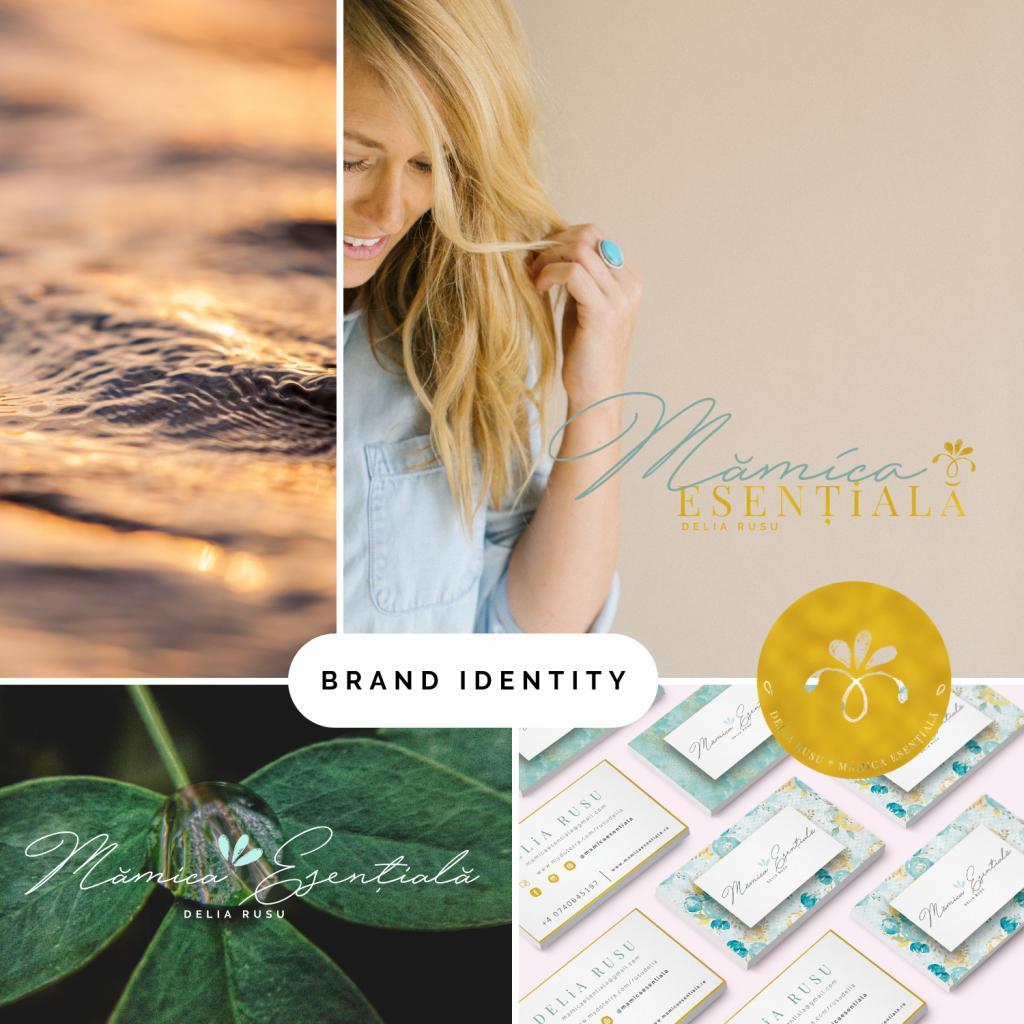 identitate brand