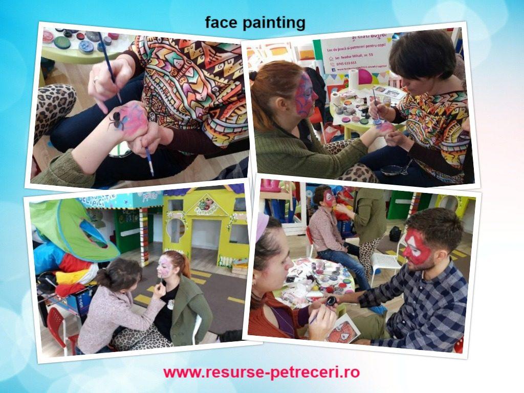 workshop de face painting
